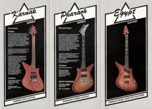 catalogue guitars