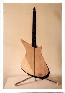 prototype guitars. Egypt Isis second prototype